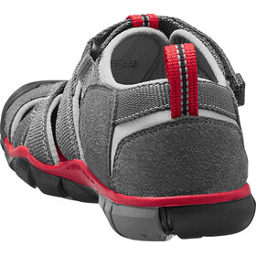 Keen Seacamp II CNX Chaussures Enfant, magnet/racing red